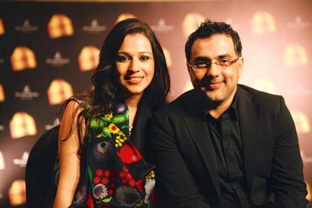 Pankaj & Nidhi Ahuja will show at the London Fashion Week next month.  Photo: